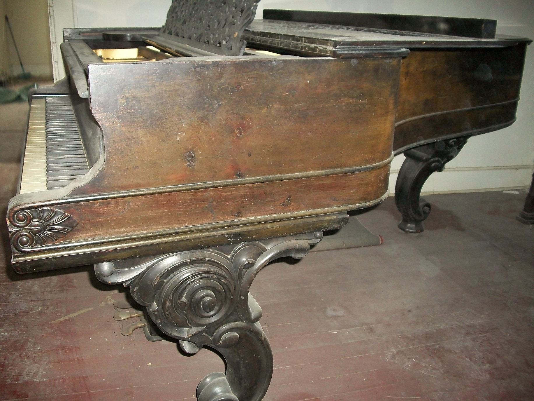 1877 Steinway Model B Grand Piano #39970