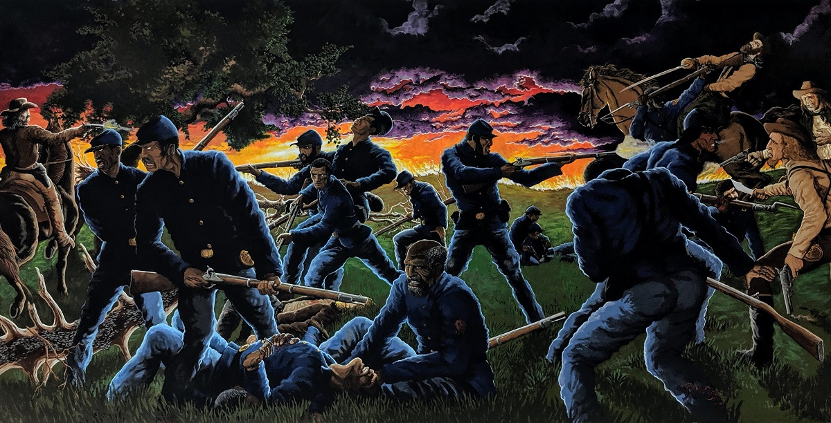 African American Soldiers in Bates County